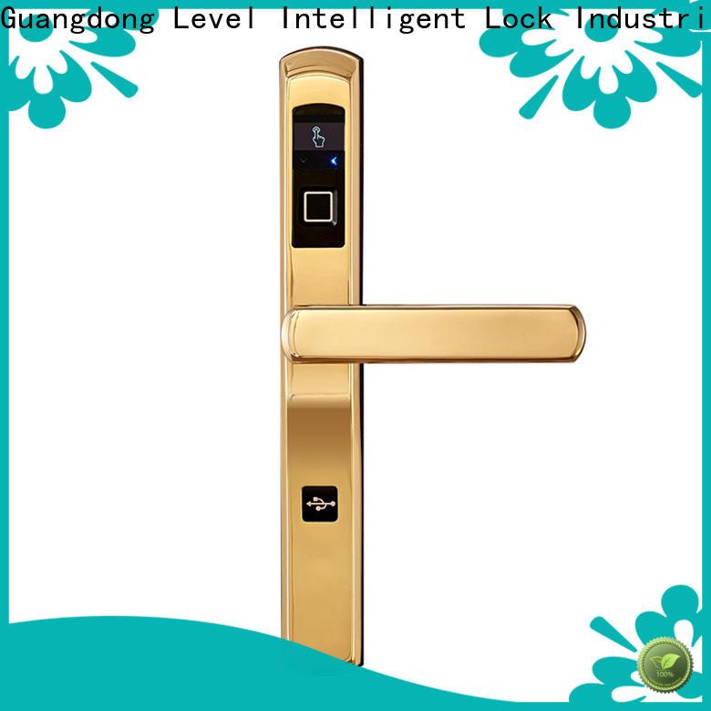 Top best combination front door lock fingerprint factory price for residential