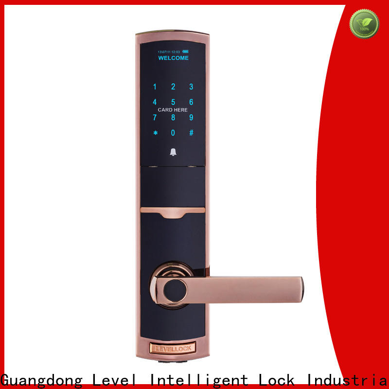 Level screen digital house door lock wholesale for apartment