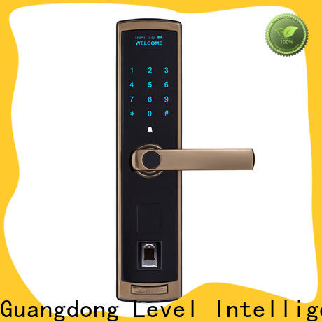 Level aluminum exterior keypad lock wholesale for residential