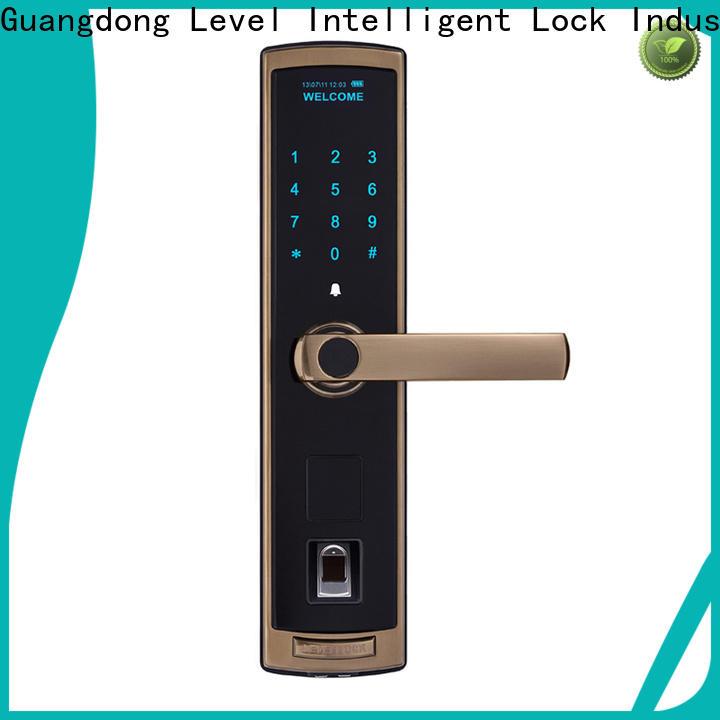 Level Custom outdoor keyless door lock supplier for Villa