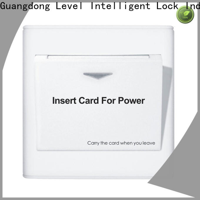 reliable hotel card key switch promotion for Villa