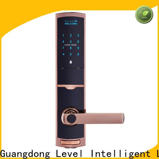 Level Top exterior door combination lock on sale for Villa