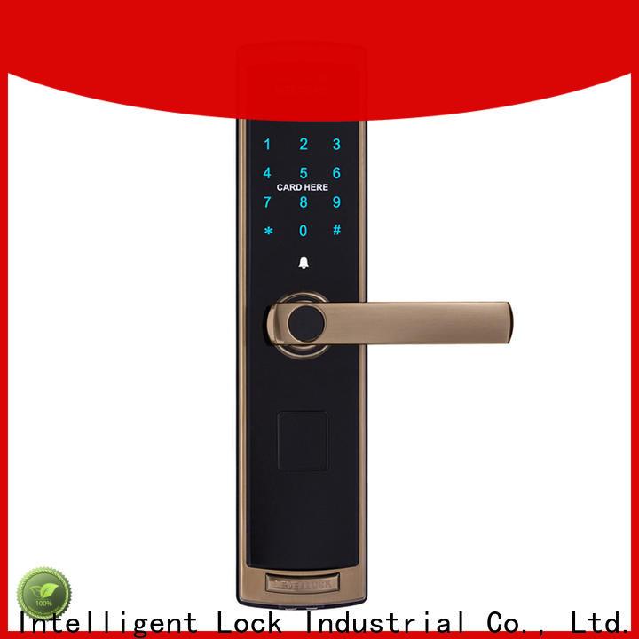 Level alloy door keypad lock system wholesale for Villa
