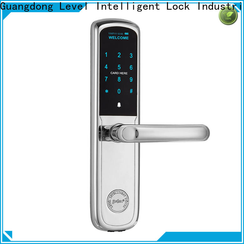 Level High-quality door lock entry system factory price for home