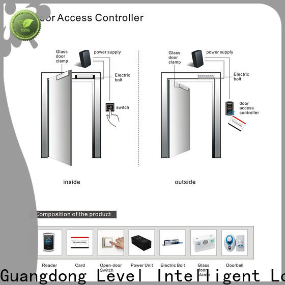 Level offline wireless door access control systems wholesale for apartment