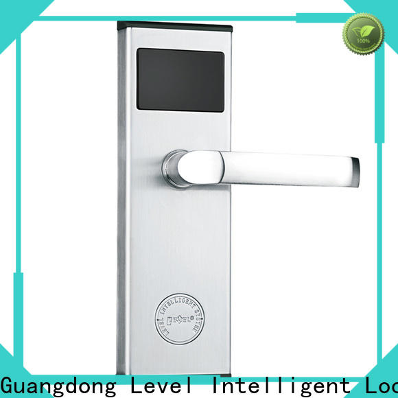 Level style hotel door unlocker supplier for lodging house