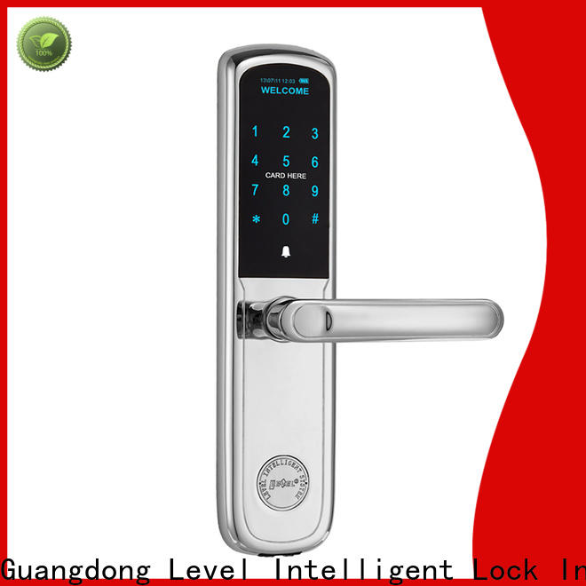 Level high quality touchpad door lock wholesale for Villa