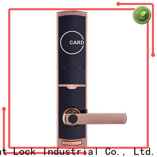 Level pieces hotel room locks wholesale for lodging house