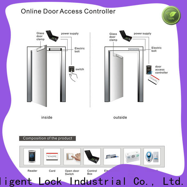 Level keyless proximity card access control system promotion for Villa