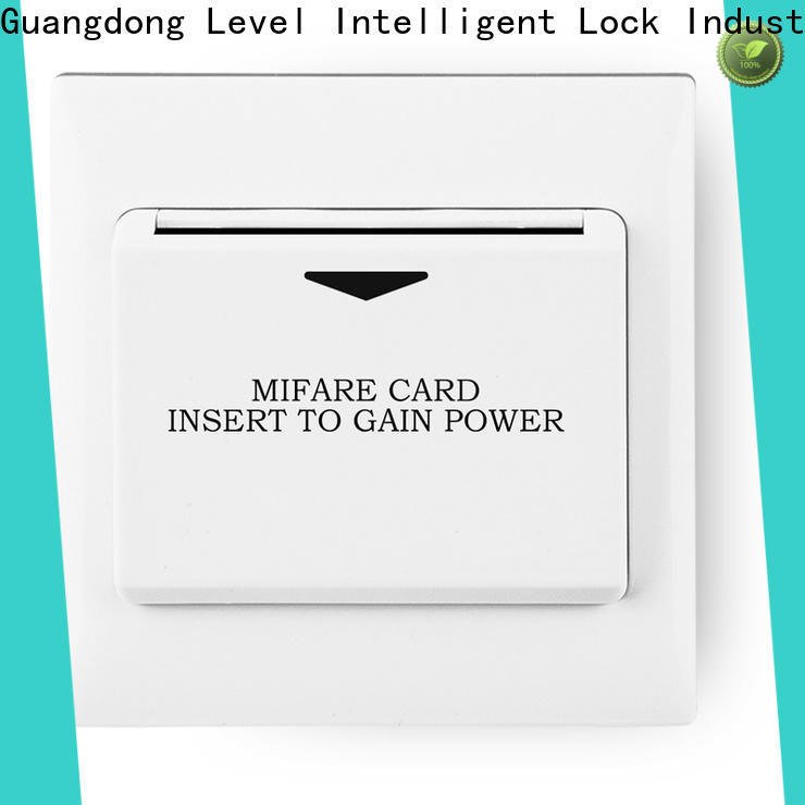 High-quality card switch hotel room level Supply for Villa