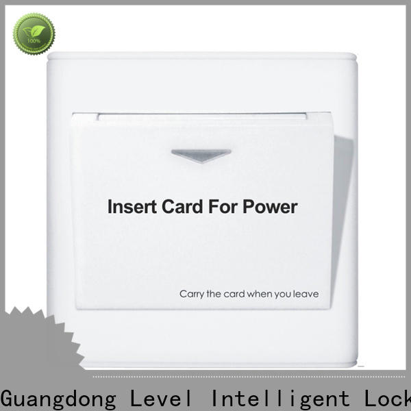 high quality hotel card switch saving from China for residential