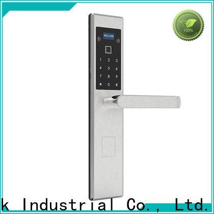 Level security electronic bedroom door lock factory price for Villa