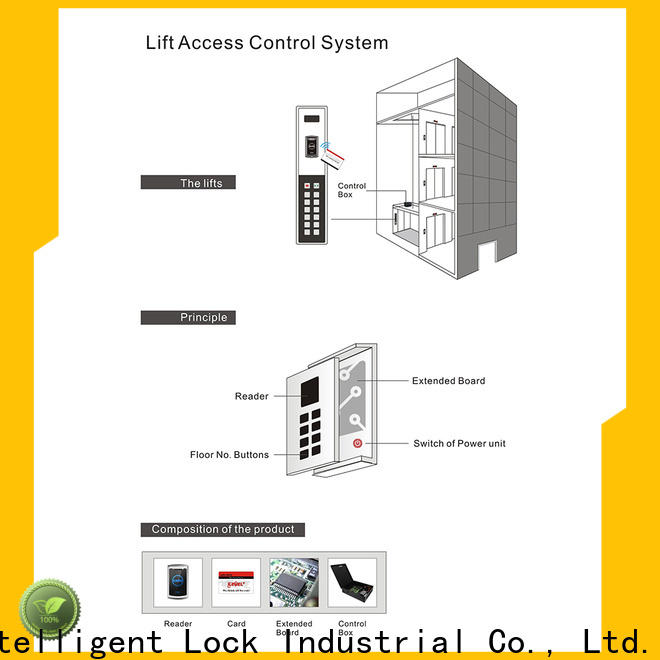 Level level access card lift factory price