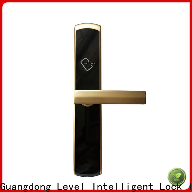 Level door hotel electronic door lock system directly price for hotel