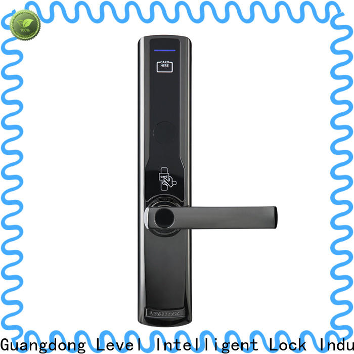 Level security hotel lock tool supplier for Villa