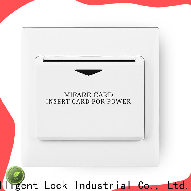 Level Wholesale hotel card light switch company for residential