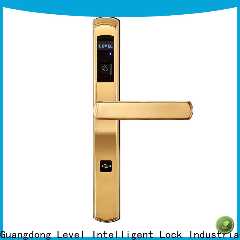 Level New hotel swipe card lock systems promotion for apartment