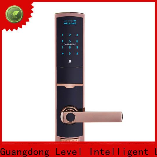 Level Best outdoor electronic door lock factory price for home