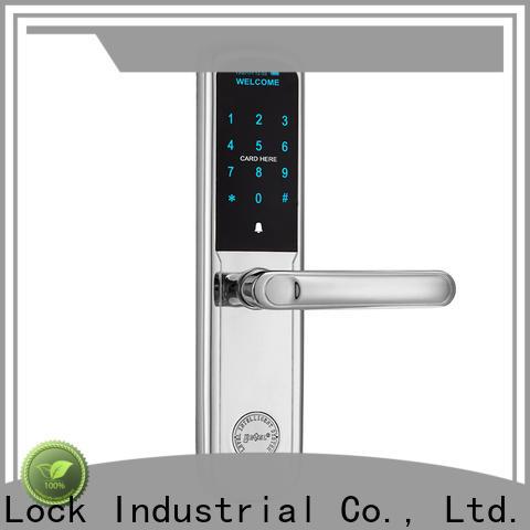 Level Top electronic entrance lock supplier for Villa