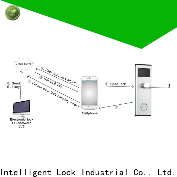 Level durable smart lock bluetooth keyless home entry supplier for hotel
