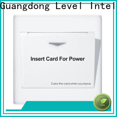 Level Top no voltage release switch promotion for apartment