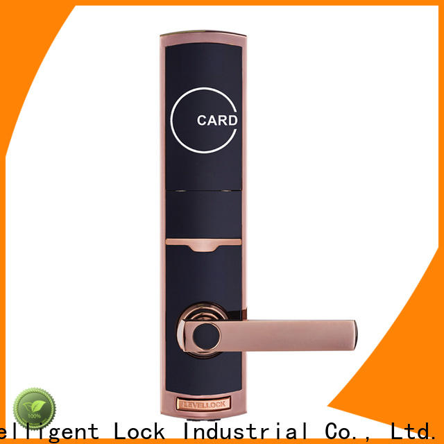 Level stainless hotel room lock system directly price for apartment