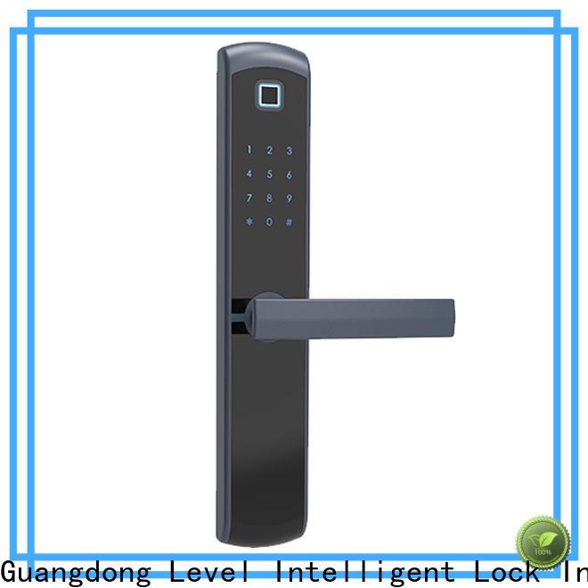 Best keypad front lock aluminum factory price for Villa