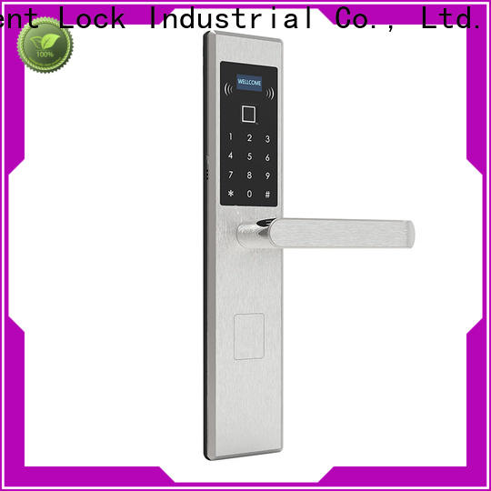 Custom keyless exterior door lock aluminum on sale for home