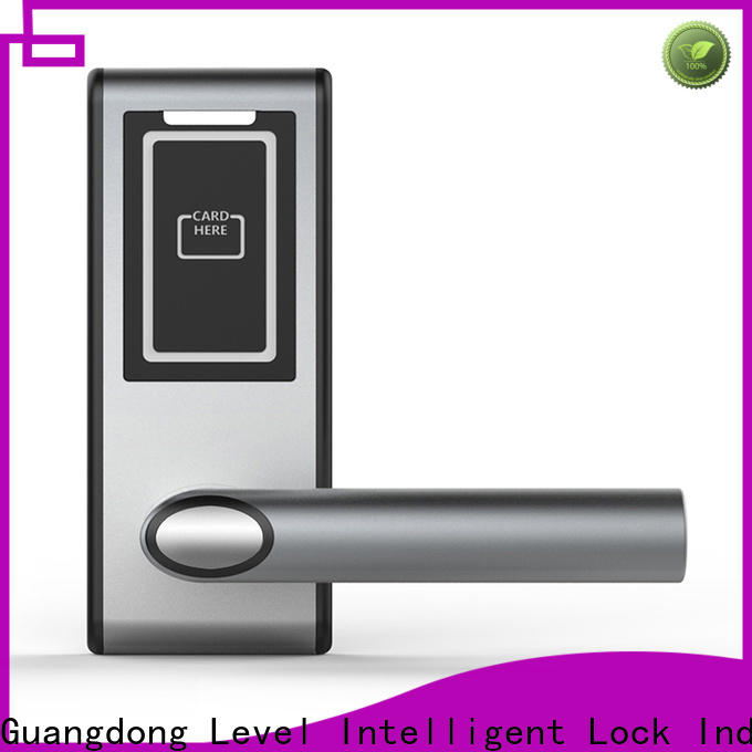 Level latch hotel key security wholesale for lodging house