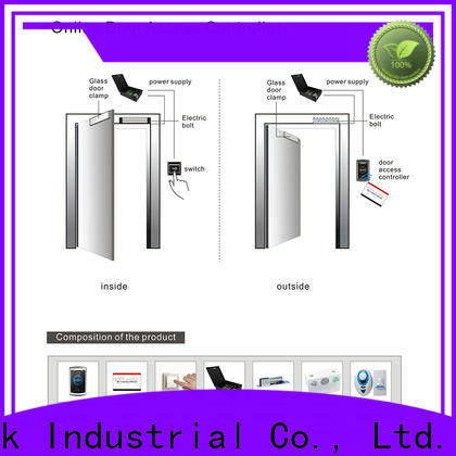 Custom access control server door wholesale for Villa