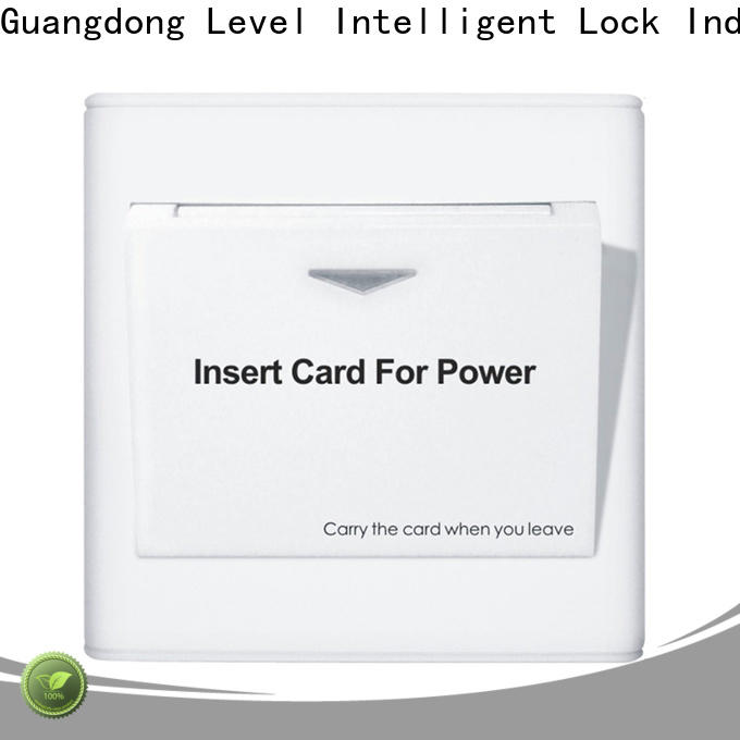 Latest electric energy card hotel factory for home