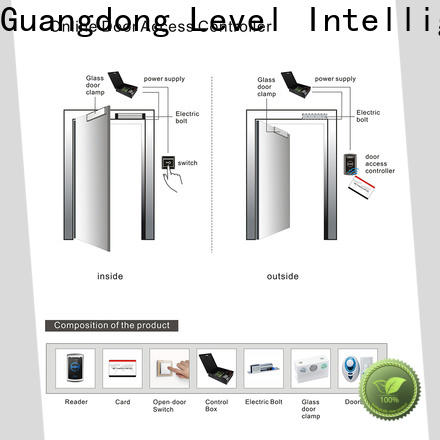 Level level door security badge remote control for office