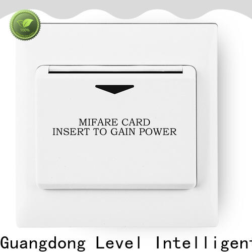 Level high quality hotel room key card switch for business for apartment