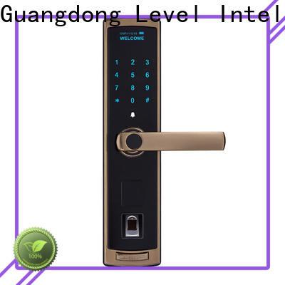 Level screen digital exterior door lock supplier for Villa