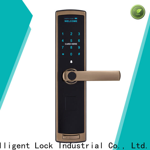 Level sus304 touch key door locks factory price for home
