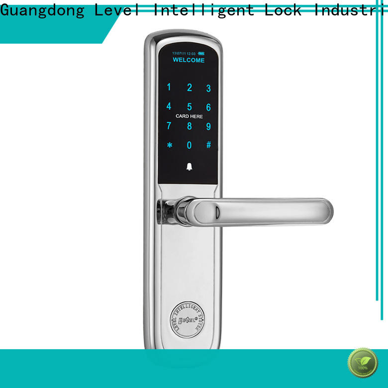 Level Latest coded entry door locks factory price for residential