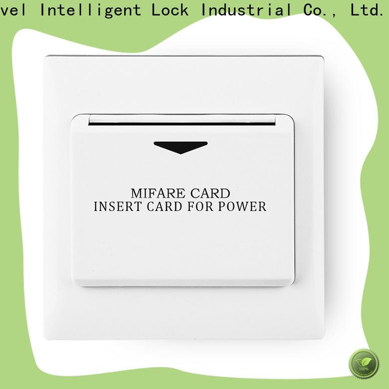 Custom energy saving key card system card promotion for apartment