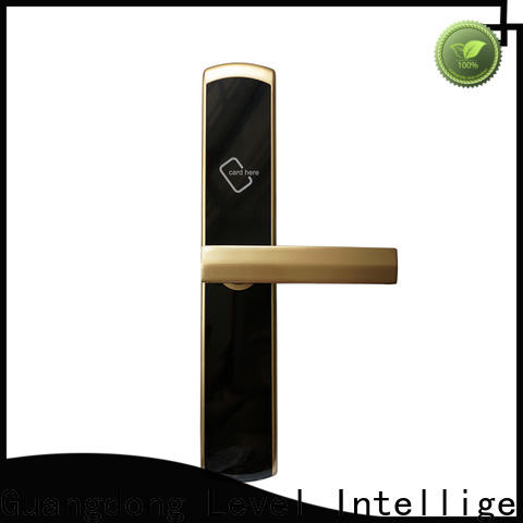 Level style hotel fingerprint door lock wholesale for Villa