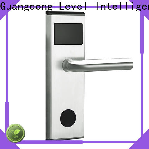 Level Top magnetic card lock promotion for lodging house