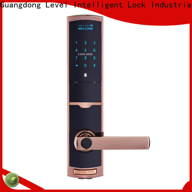 Level Wholesale keyless entry exterior door locks factory price for residential