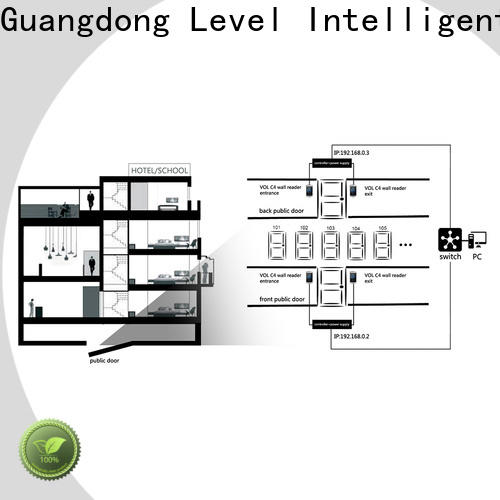 Level lock integrated access control on sale for hotel