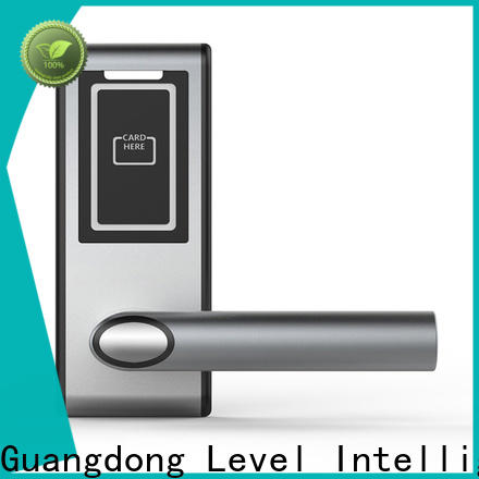 Level split hotel door access card system supplier for lodging house