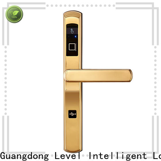 Level door electronic entry door deadbolt with keypad factory price for apartment