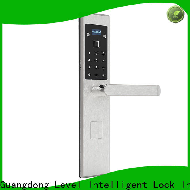 Level fashion electronic door deadbolt factory price for apartment