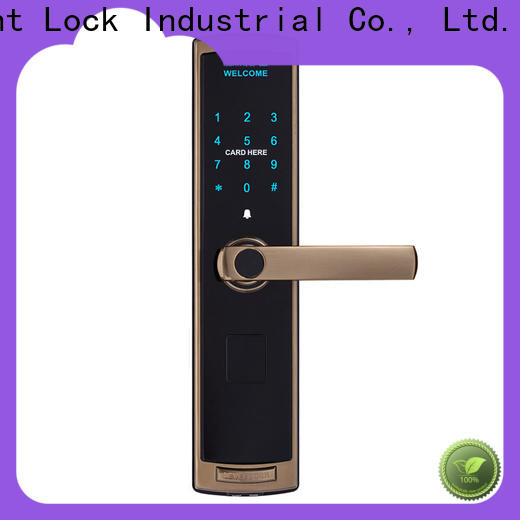 Level high quality electronic front door handles wholesale for home