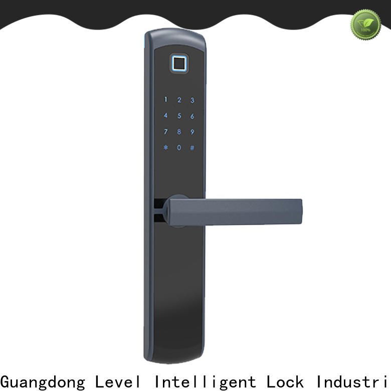 Level touch electronic door deadbolt wholesale for apartment