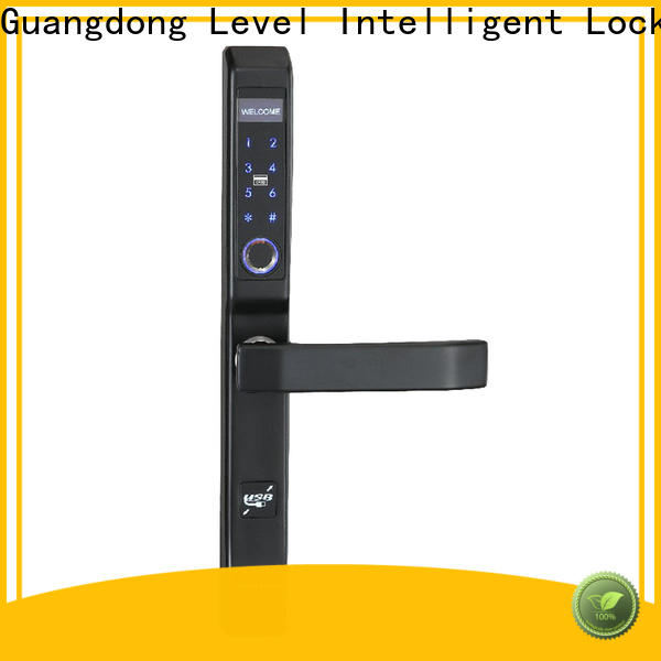 Level keyless wireless electronic door locks for homes wholesale for apartment