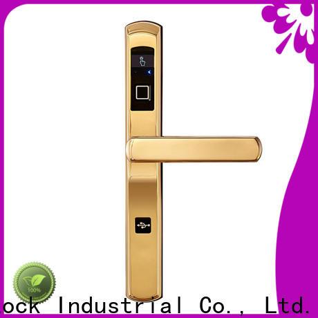 Custom electronic door look bridgecut factory price for apartment