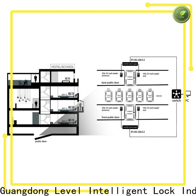 Level vol facility access control factory for apartment