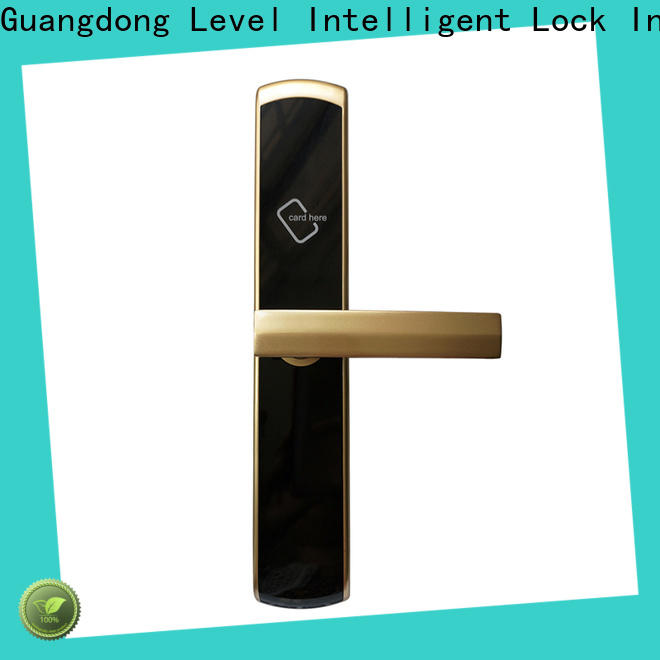 Level rf1360 hotel door card system wholesale for lodging house